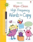 Wipe-Clean High-Frequency Words to Copy - Book