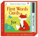 Wipe-Clean First Words Cards - Book