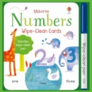 Wipe-Clean Number Cards - Book