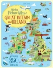 Sticker Picture Atlas of Great Britain and Ireland - Book