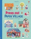 Press-Out Paper Village - Book