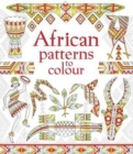 African Patterns to Colour - Book