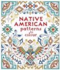 Native American Patterns To Colour - Book