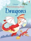 First Colouring Book Dragons - Book