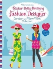 Sticker Dolly Dressing Fashion Designer London and New York Collection - Book