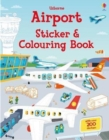 Airport Sticker and Colouring Book - Book