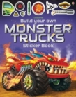 Build Your Own Monster Trucks Sticker Book - Book