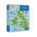 Usborne Atlas and Jigsaw Great Britain and Ireland - Book