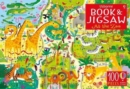 Usborne Book and Jigsaw At the Zoo - Book