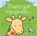 That's not my giraffe... - Book
