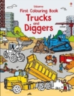 First Colouring Book Trucks and Diggers - Book