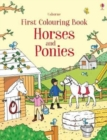First Colouring Book Horses and Ponies - Book