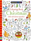 Colouring Book Christmas with Rub-Down Transfers - Book