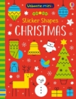 Sticker Shapes Christmas - Book
