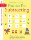 Subtracting Practice Pad 5-6 - Book