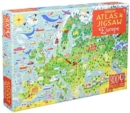 Usborne Atlas and Jigsaw Europe - Book