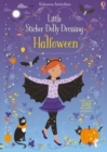 Little Sticker Dolly Dressing Halloween - Book