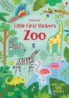Little First Stickers Zoo - Book