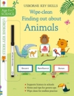 Wipe-Clean Finding Out About Animals 6-7 - Book