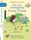 Wipe-Clean Investigating Living Things 7-8 - Book