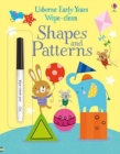 Early Years Wipe-clean Shapes & Patterns - Book