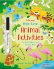 Wipe-Clean Animal Activities - Book