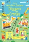 Little First Stickers Diggers and Cranes - Book