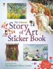 Story of Art Sticker Book - Book