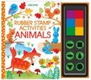 Rubber Stamp Activities Animals - Book