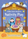Little First Stickers Nativity Play - Book