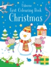 First Colouring Book Christmas - Book