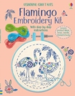 Embroidery Kit: Flamingo - Book