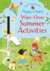 Poppy and Sam's Wipe-Clean Summer Activities - Book