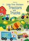 Little First Stickers Tractors and Trucks - Book