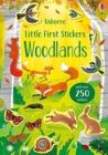 Little First Stickers Woodlands - Book