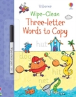 Wipe-Clean Three-Letter Words to Copy - Book