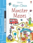 Wipe-Clean Monster Mazes - Book