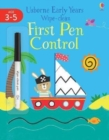 Early Years Wipe-clean First Pen Control - Book