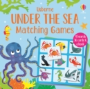 Under the Sea Matching Games - Book