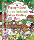Poppy and Sam's Farm Animals Magic Painting Book - Book