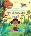 Lift-the-Flap Very First Q and A : Are Dinosaurs Real - Book