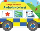 Baby's Very First Ambulance Book - Book