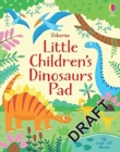 Little Children's Dinosaur Puzzles - Book