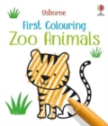 First Colouring Zoo Animals - Book