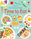 First Sticker Book Mealtime - Book