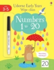 Early Years Wipe-Clean Numbers 1 To 20 - Book