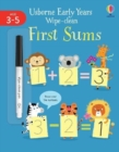 Early Years Wipe-Clean First Sums - Book