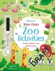 Wipe-Clean Zoo Activities - Book