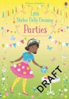 Little Sticker Dolly Dressing Parties - Book