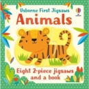 Usborne First Jigsaws: Animals - Book